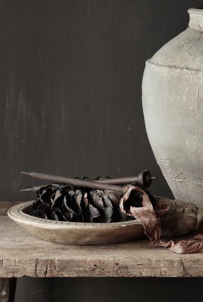 Natural stone bowl