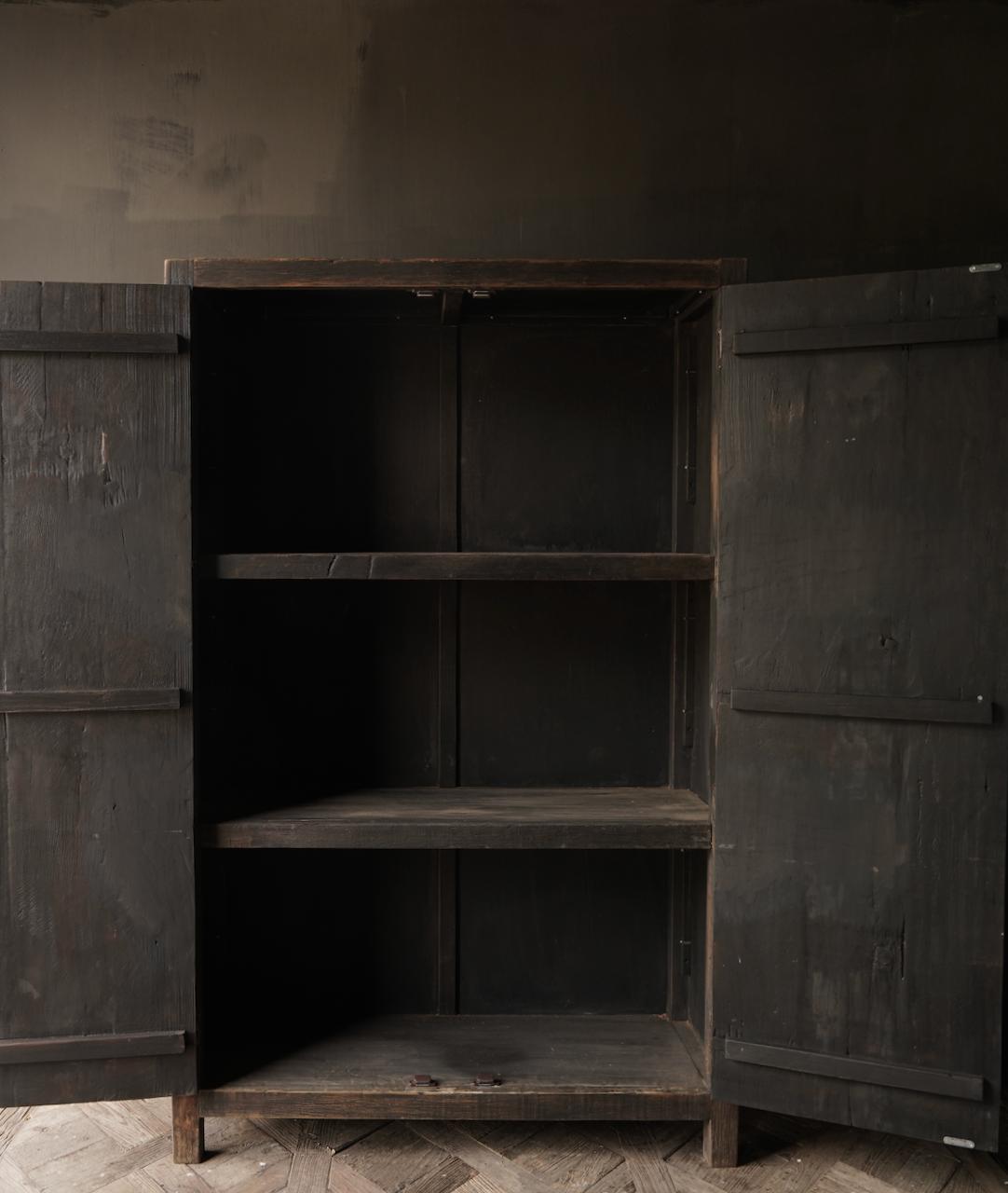 Robust rural Farmers two-door cupboard-2