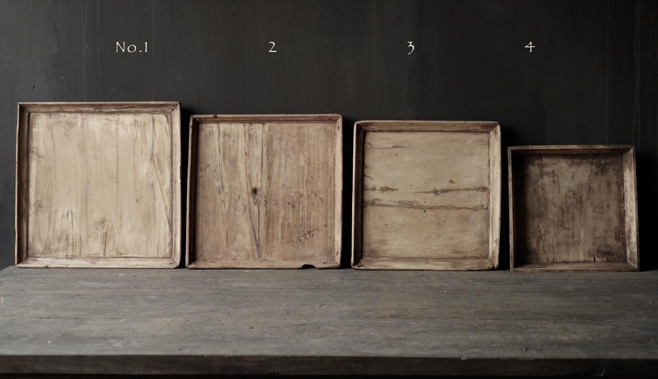 Altes authentisches Holztablett-4