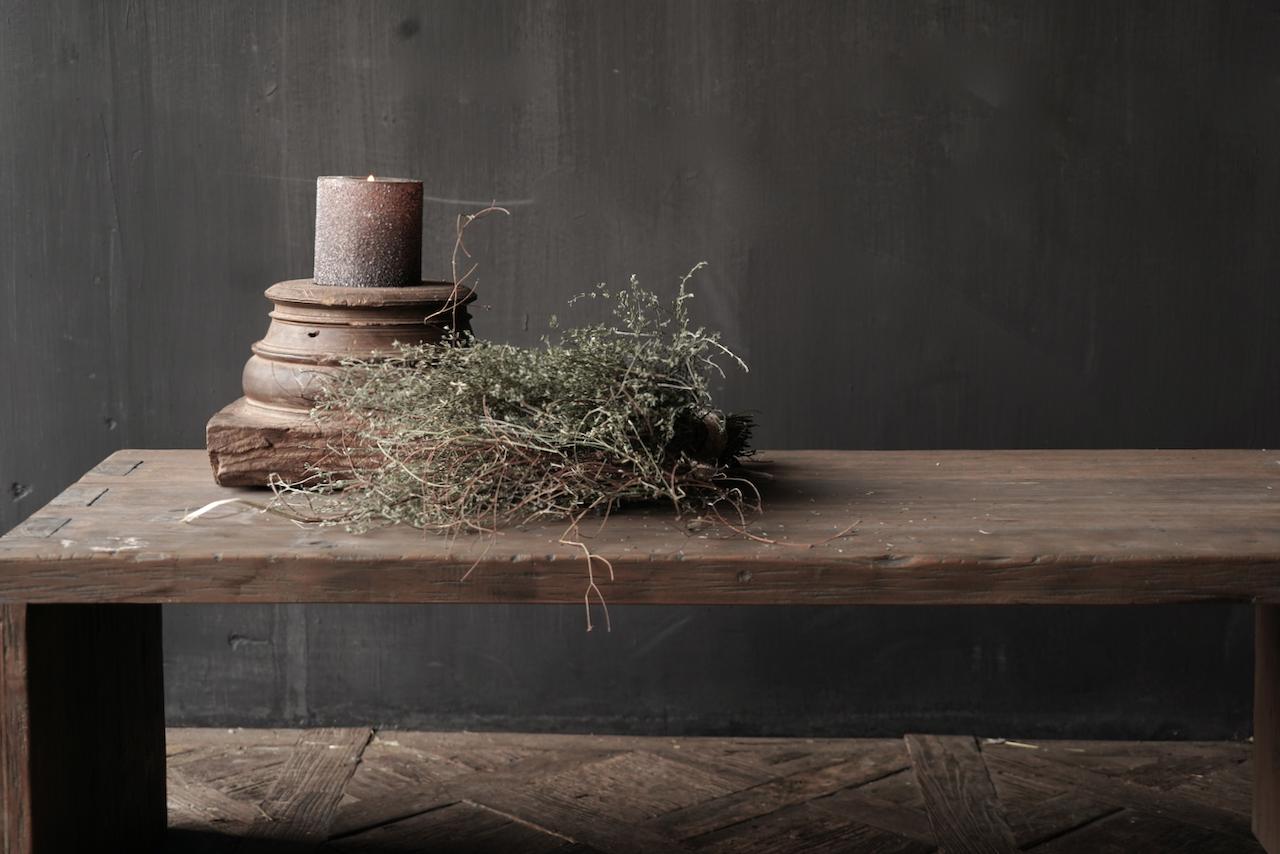 Salontafel van oud hout gemaakt-3