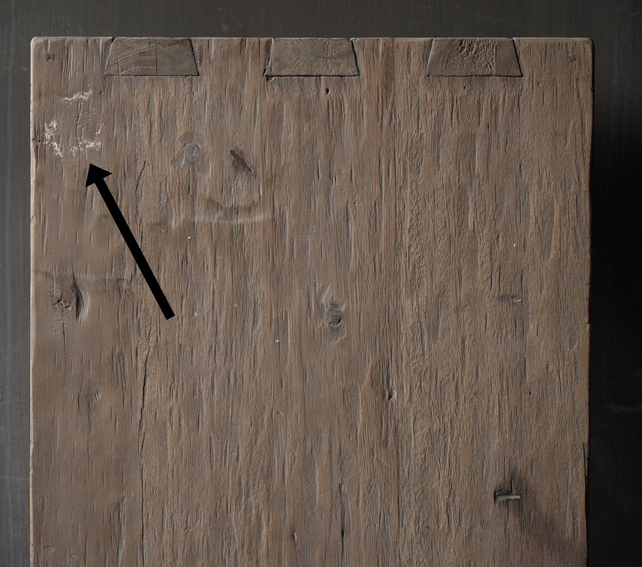Salontafel van oud hout gemaakt-4
