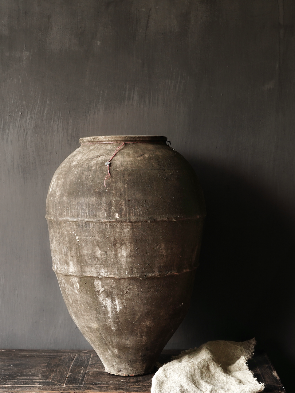 Old Authentic earthenware jug-1