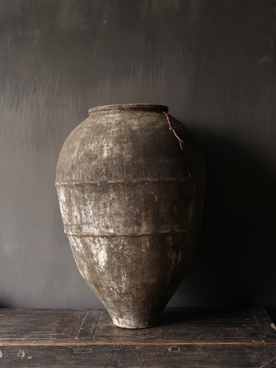 Old Authentic earthenware jug-2
