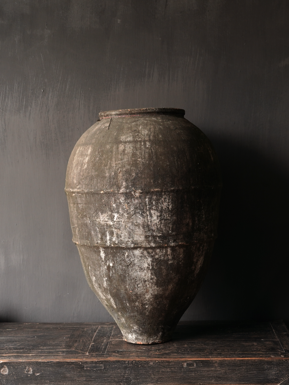 Old Authentic earthenware jug-3