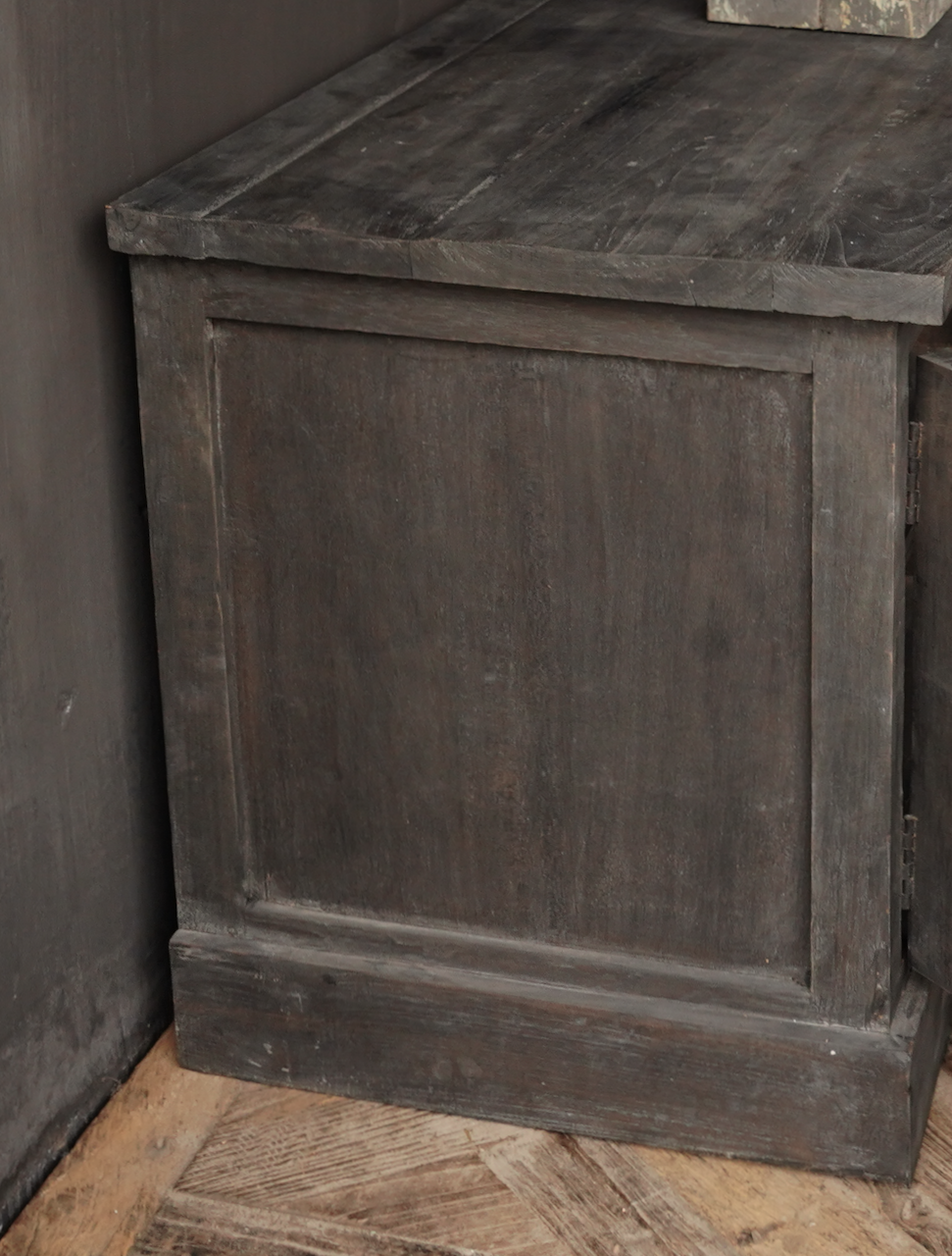 Stoer Tv Furniture / sideboard made of old wood-4