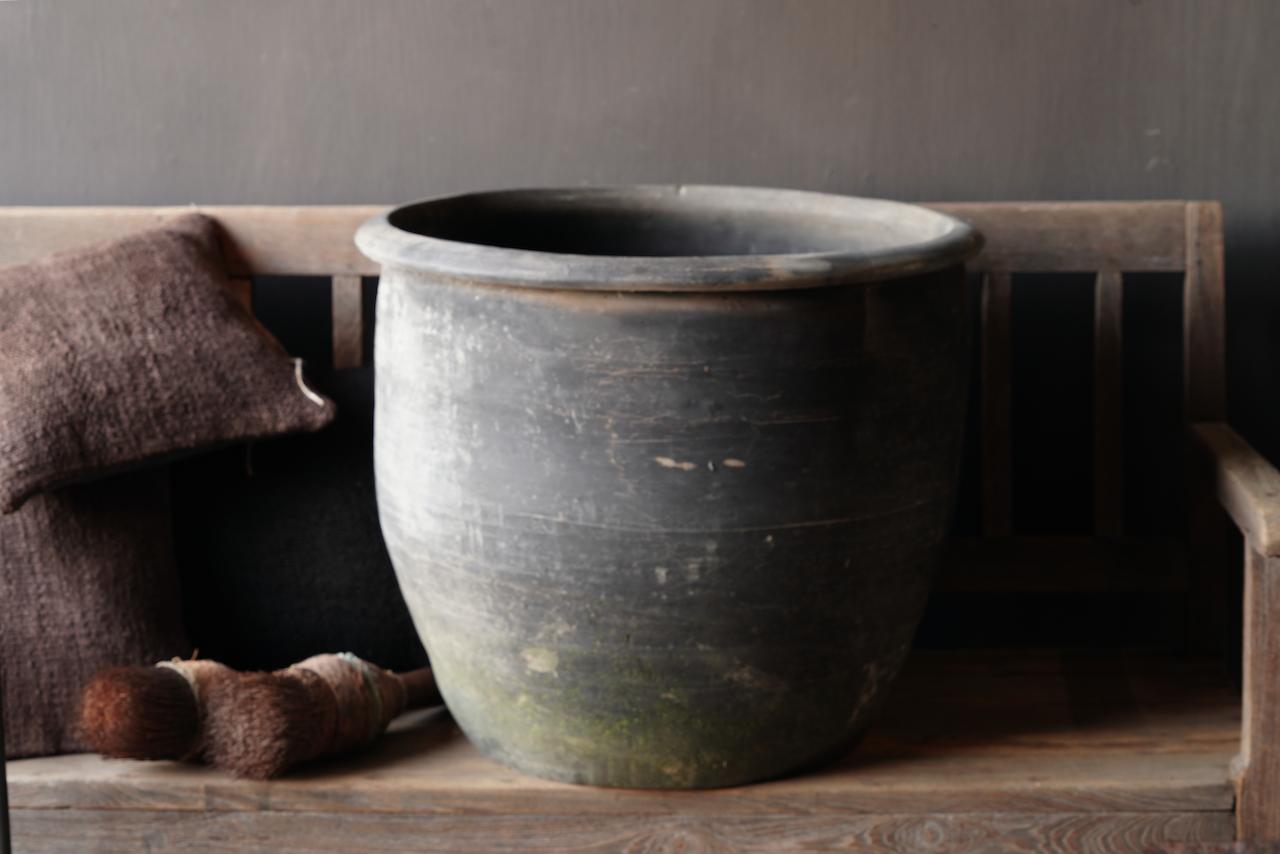 Old Jar / Pot Gray XXL-2