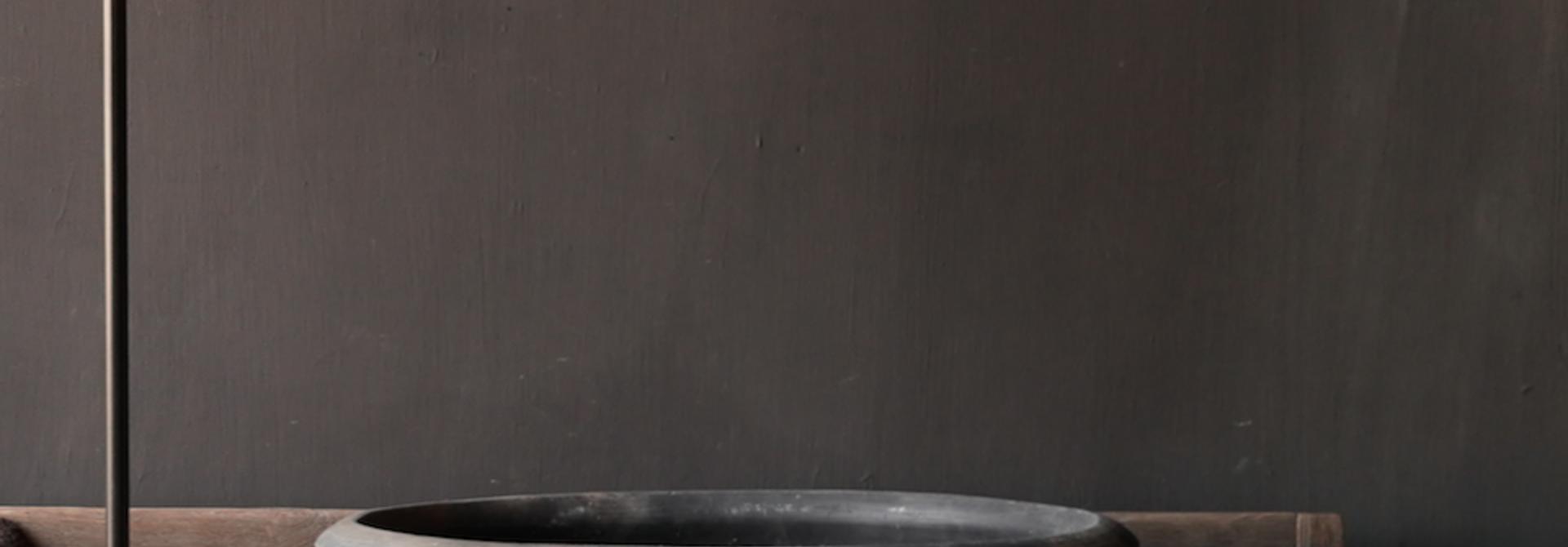 Old Jar / Pot Gray XXL