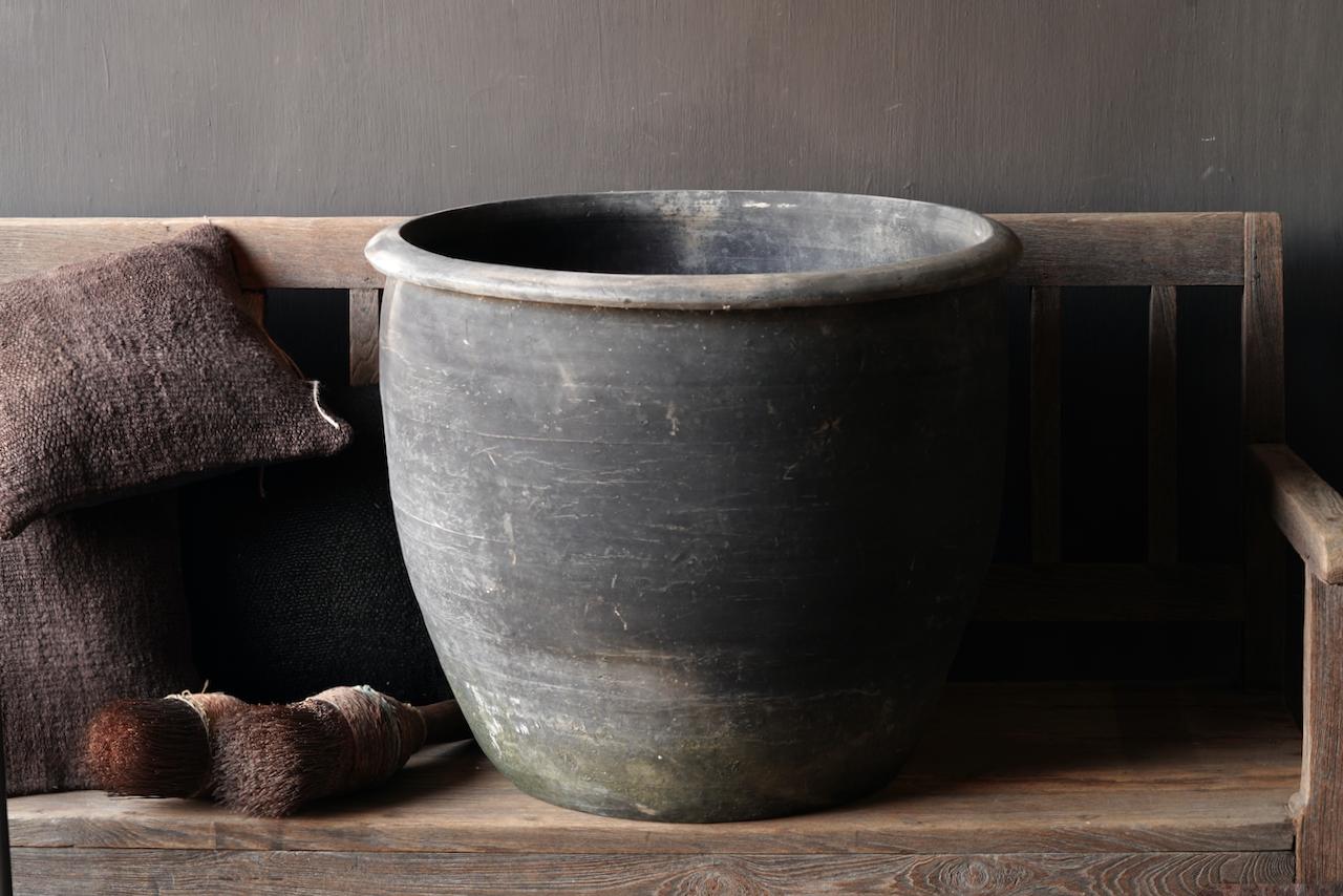 Old Jar / Pot Gray XXL-4