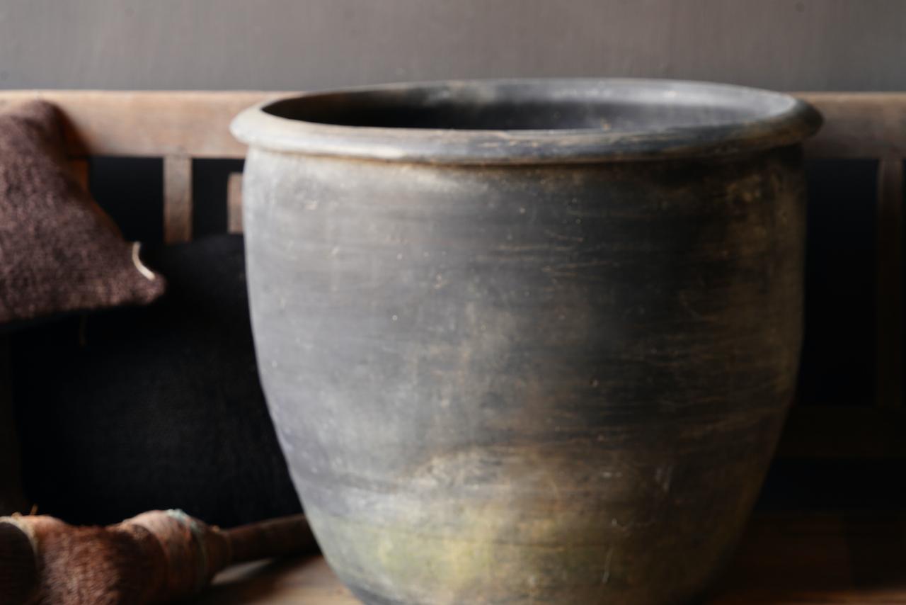 Old Jar / Pot Gray XXL-5