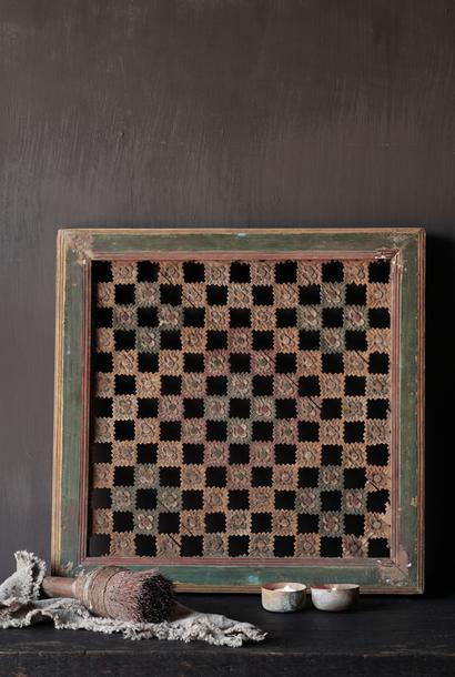 Original Authentic wooden window panel