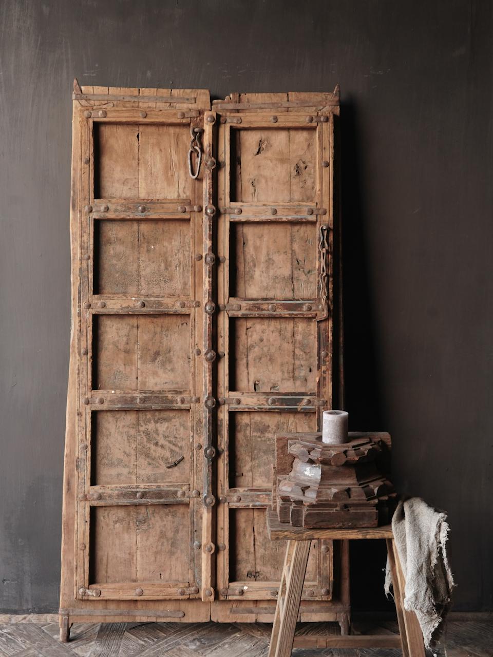 Oude Indische deuren set-6
