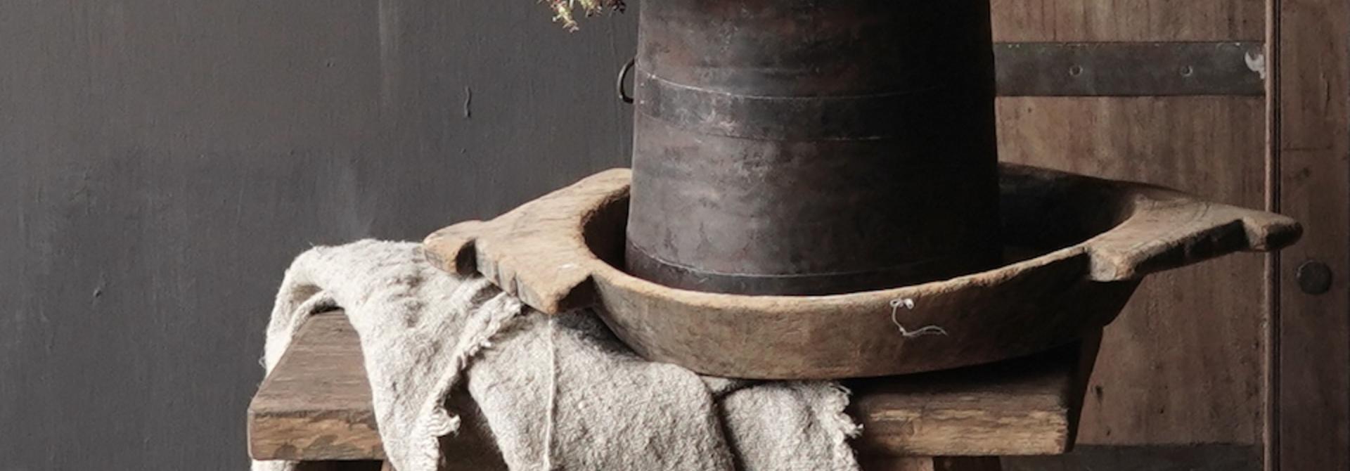 Nepalese iron pot