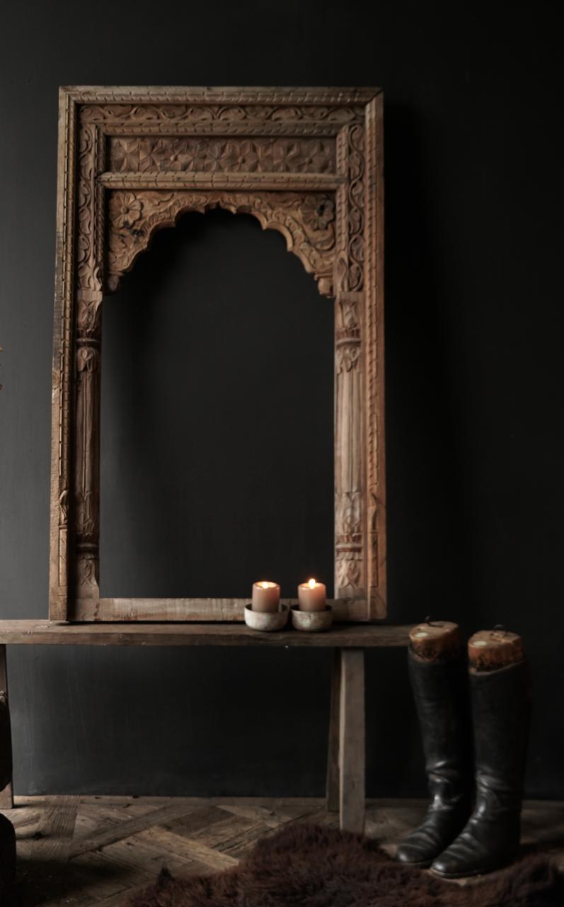 Tough wooden window frame-1