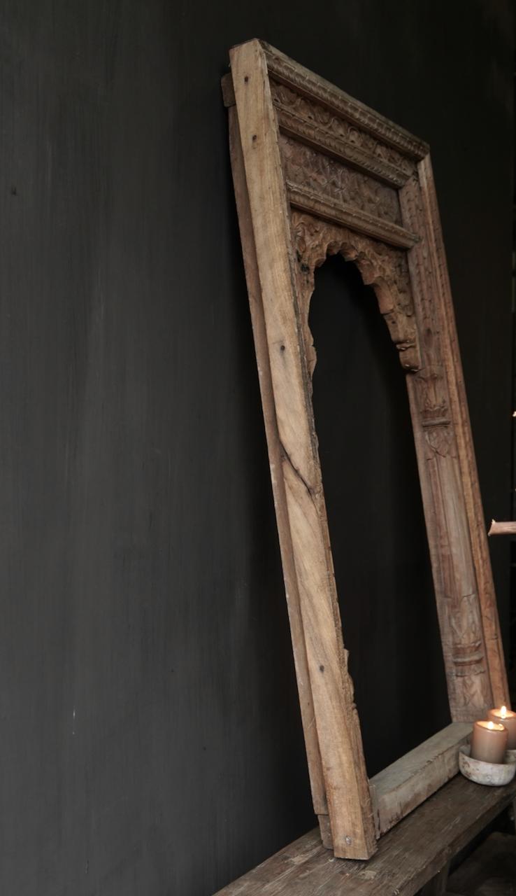 Tough wooden window frame-10