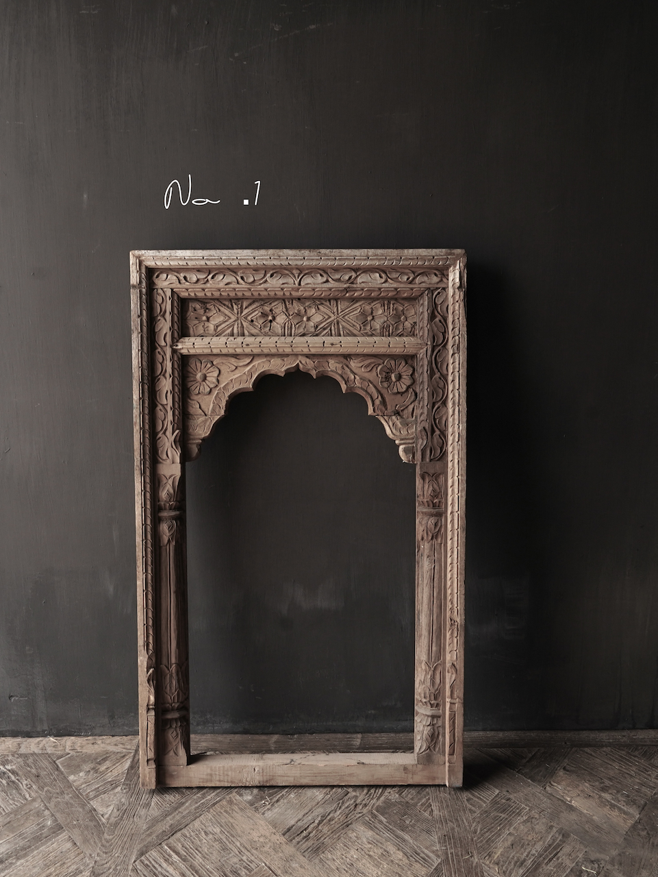 Tough wooden window frame-2