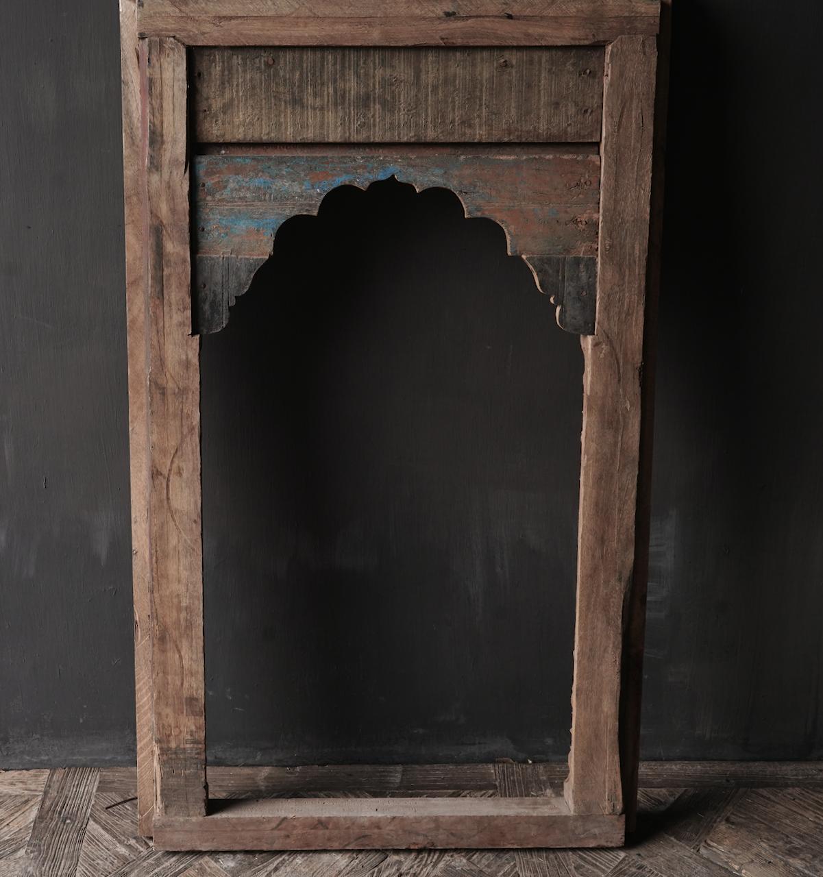Tough wooden window frame-9