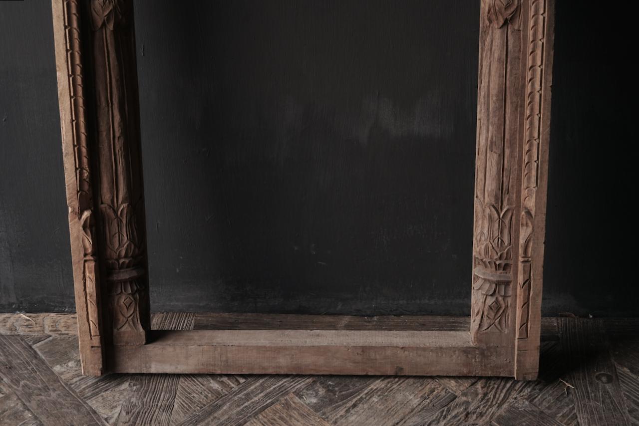 Tough wooden window frame-3
