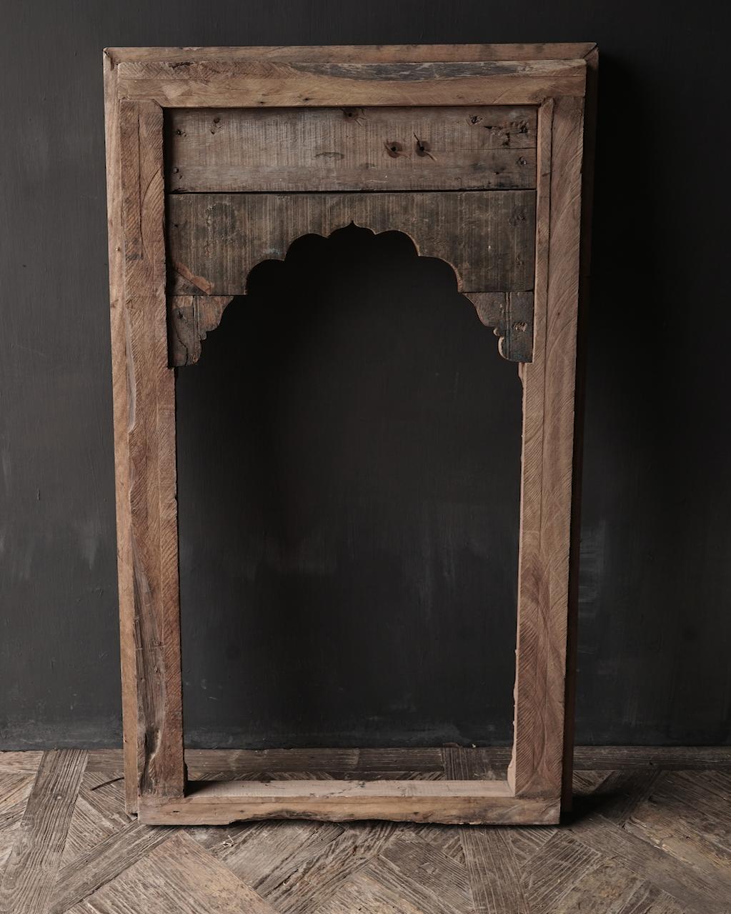 Tough wooden window frame-5