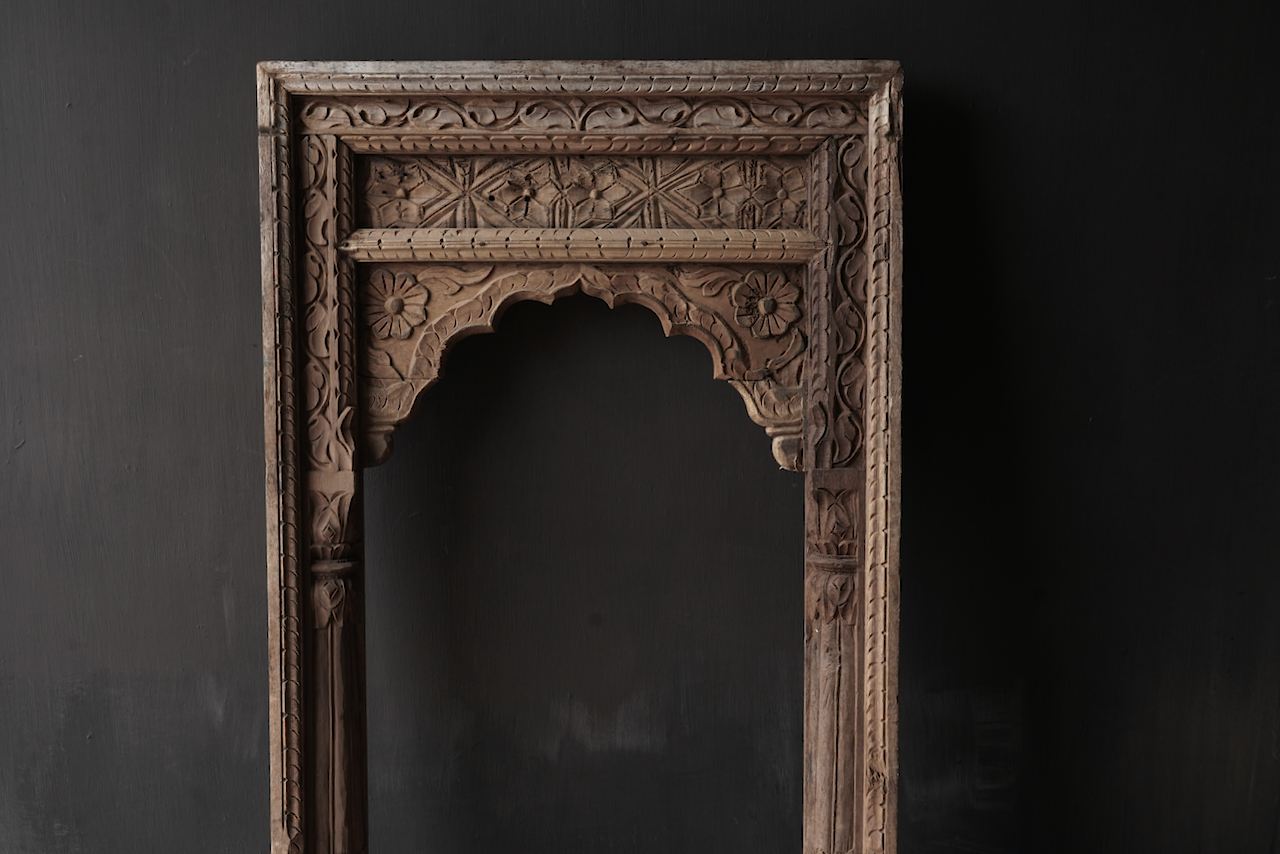 Tough wooden window frame-8