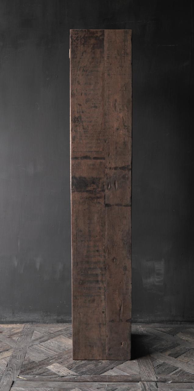 Stoere Bank van oud gebruikt hout-4