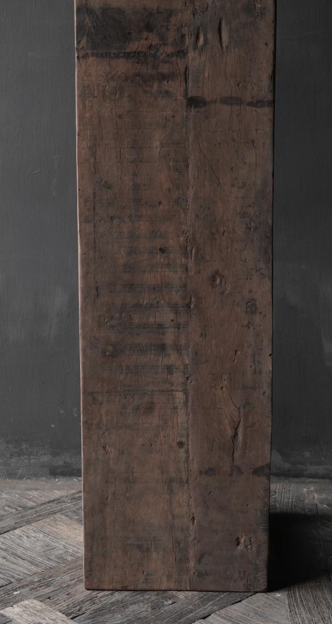 Stoere Bank van oud gebruikt hout-6