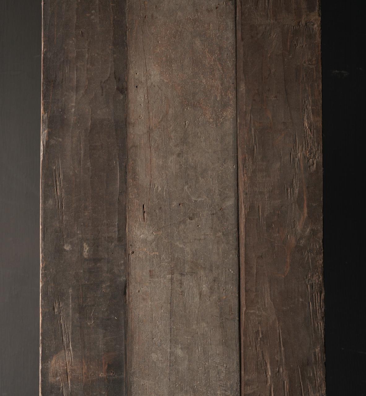 Couchtisch hergestellt in Indien aus altem gebrauchtem Holz-8