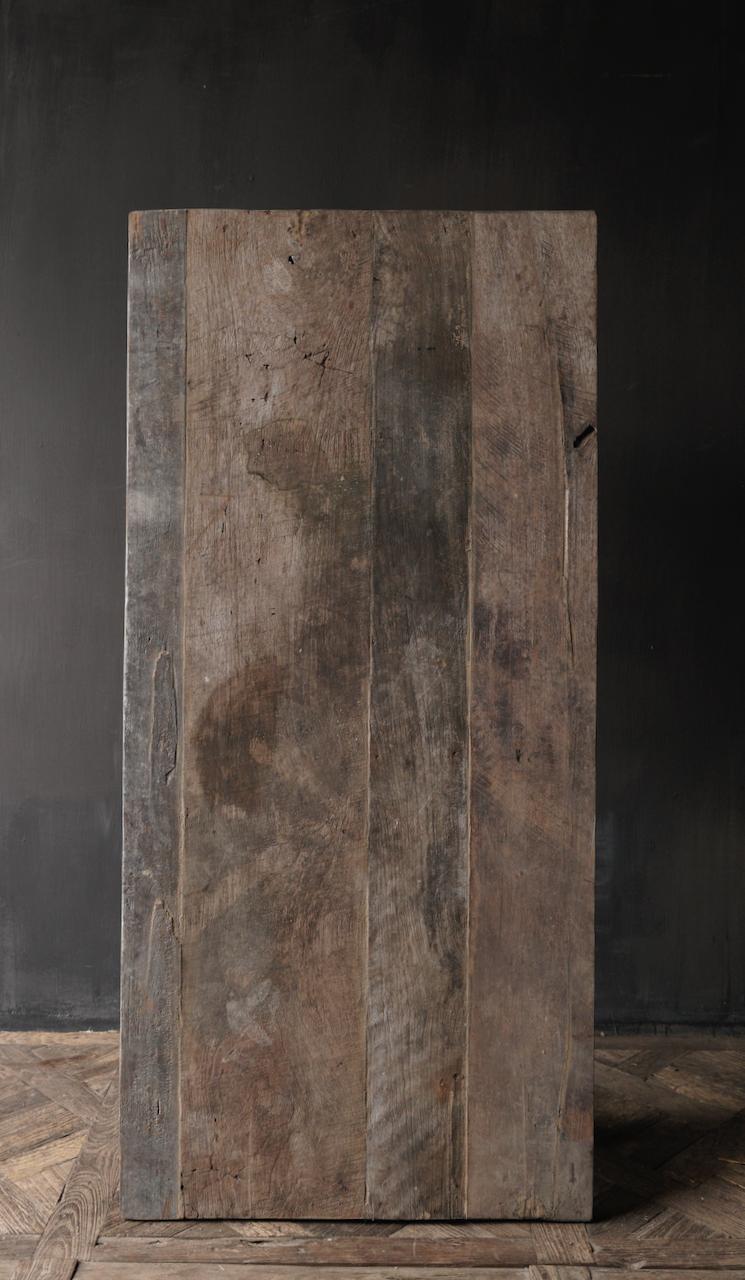 Salontafel gemaakt in India van oud gebruikt hout-9