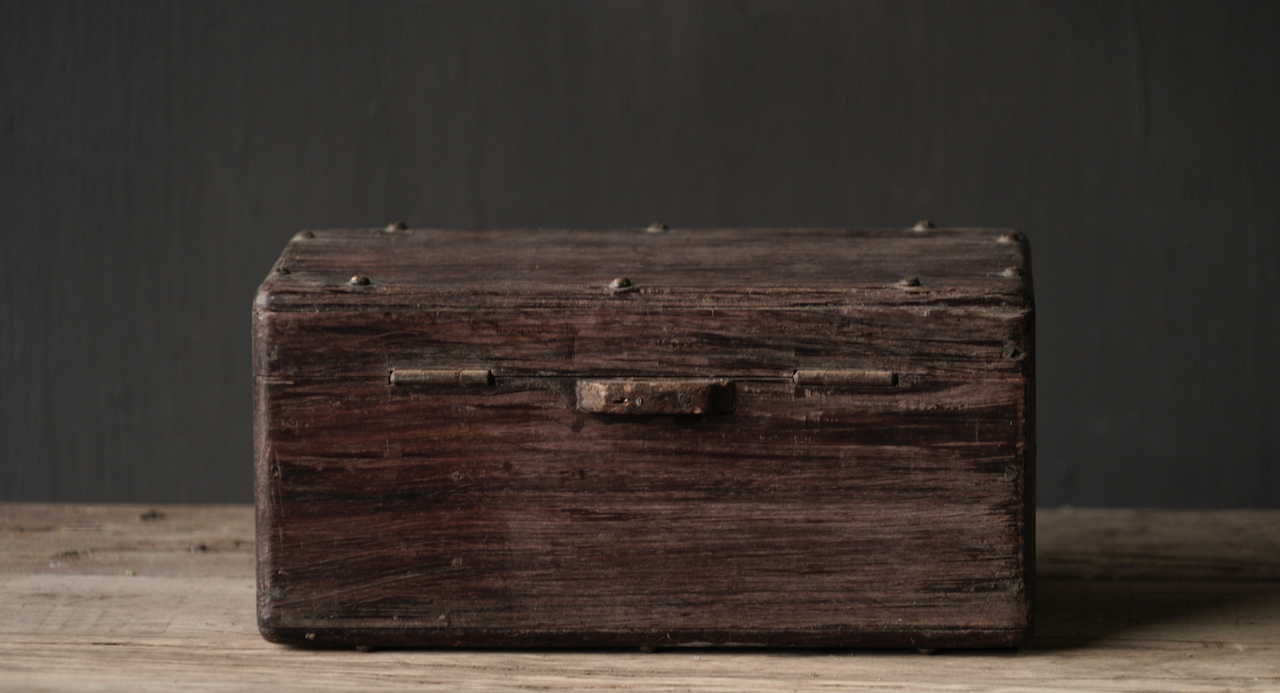 Old Authentic wooden box-8