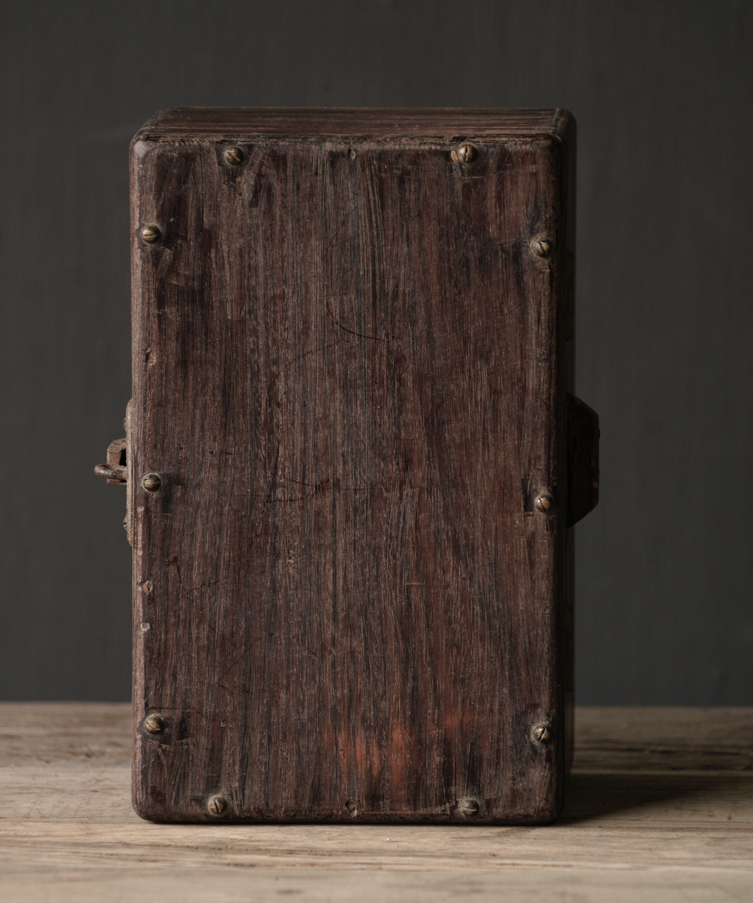 Old Authentic wooden box-9