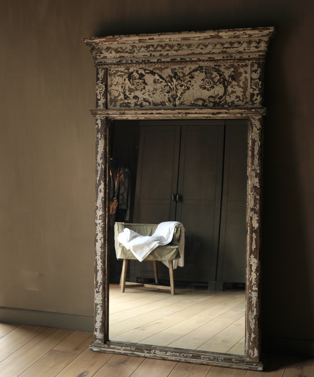 Grote houten Spiegel-2
