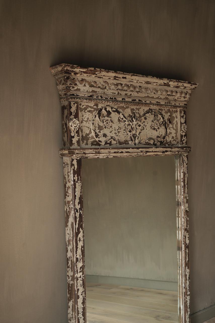 Grote houten Spiegel-3