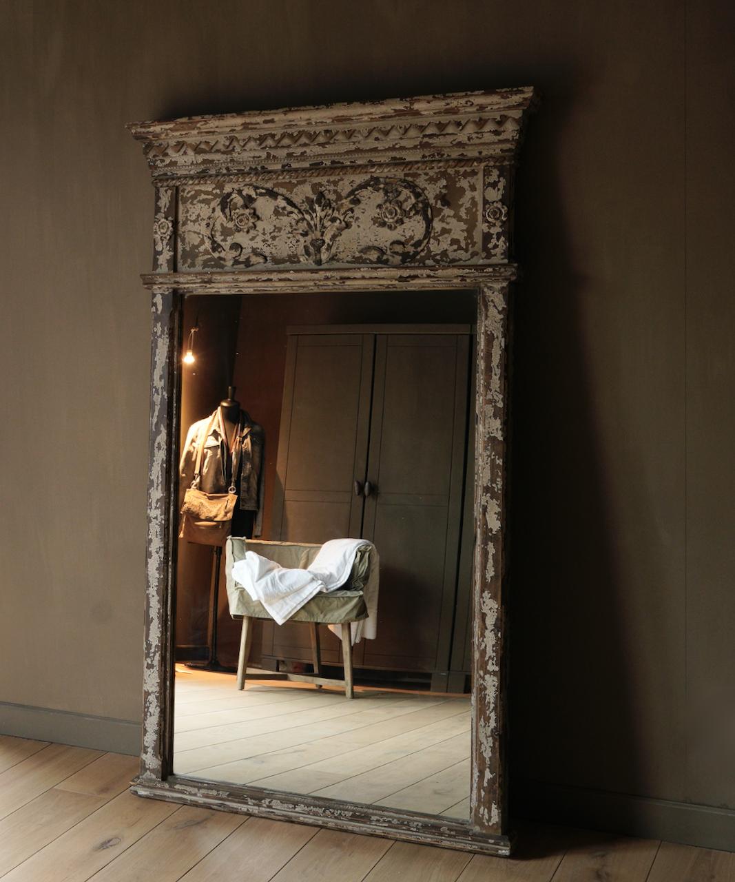 Grote houten Spiegel-1