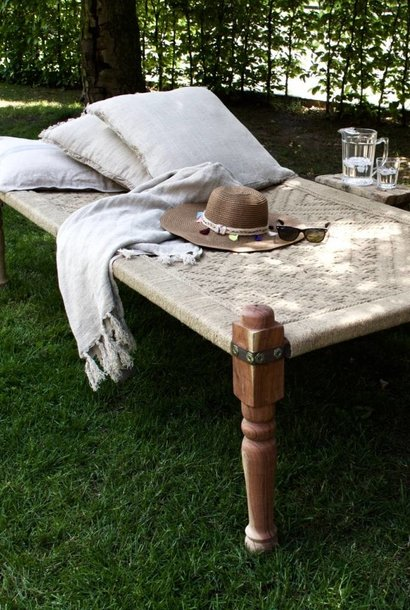 Daybed naturel canvas