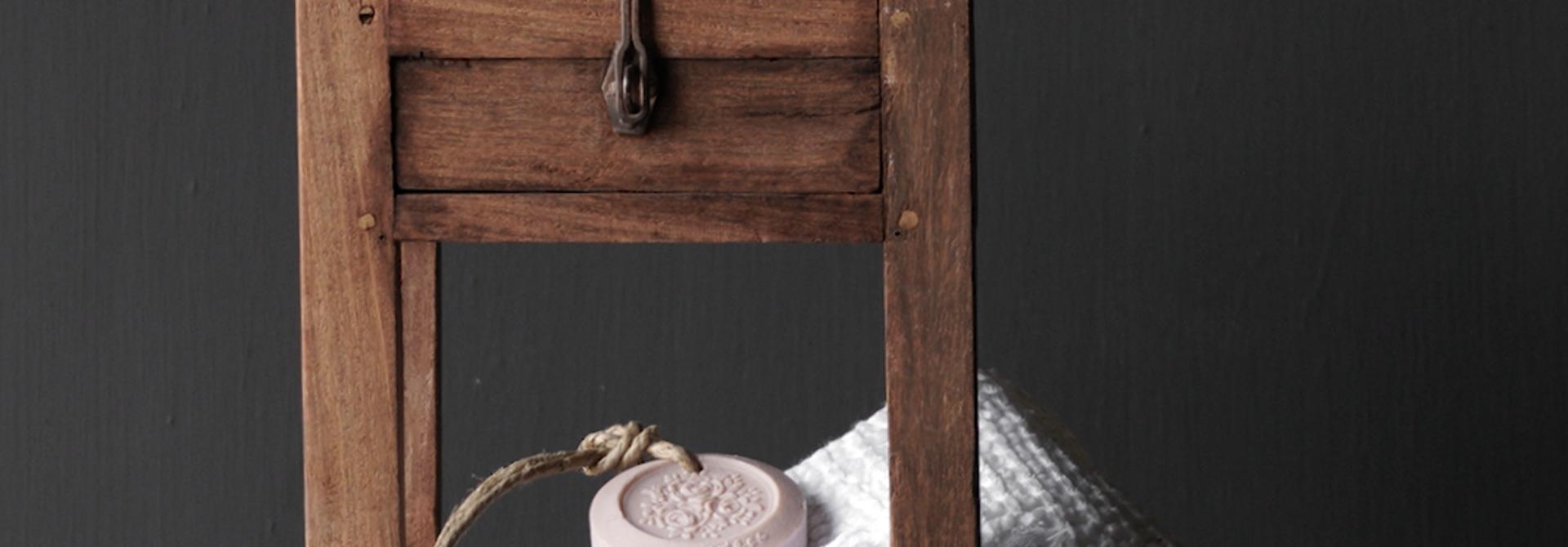 Unique Old Authentic wooden mini table