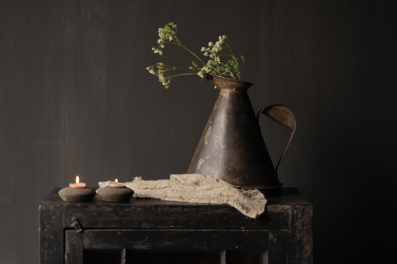 Teekerzenhalter aus Holz-4