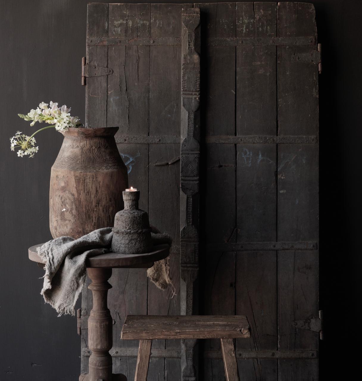 Oude Indische deuren set-2