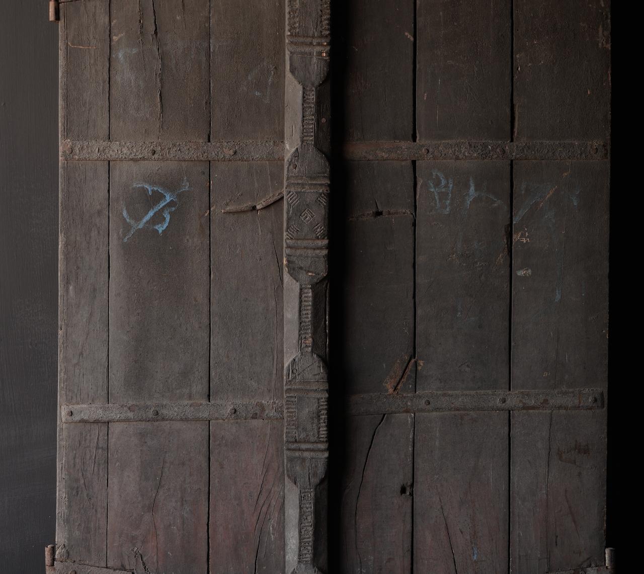 Oude Indische deuren set-3