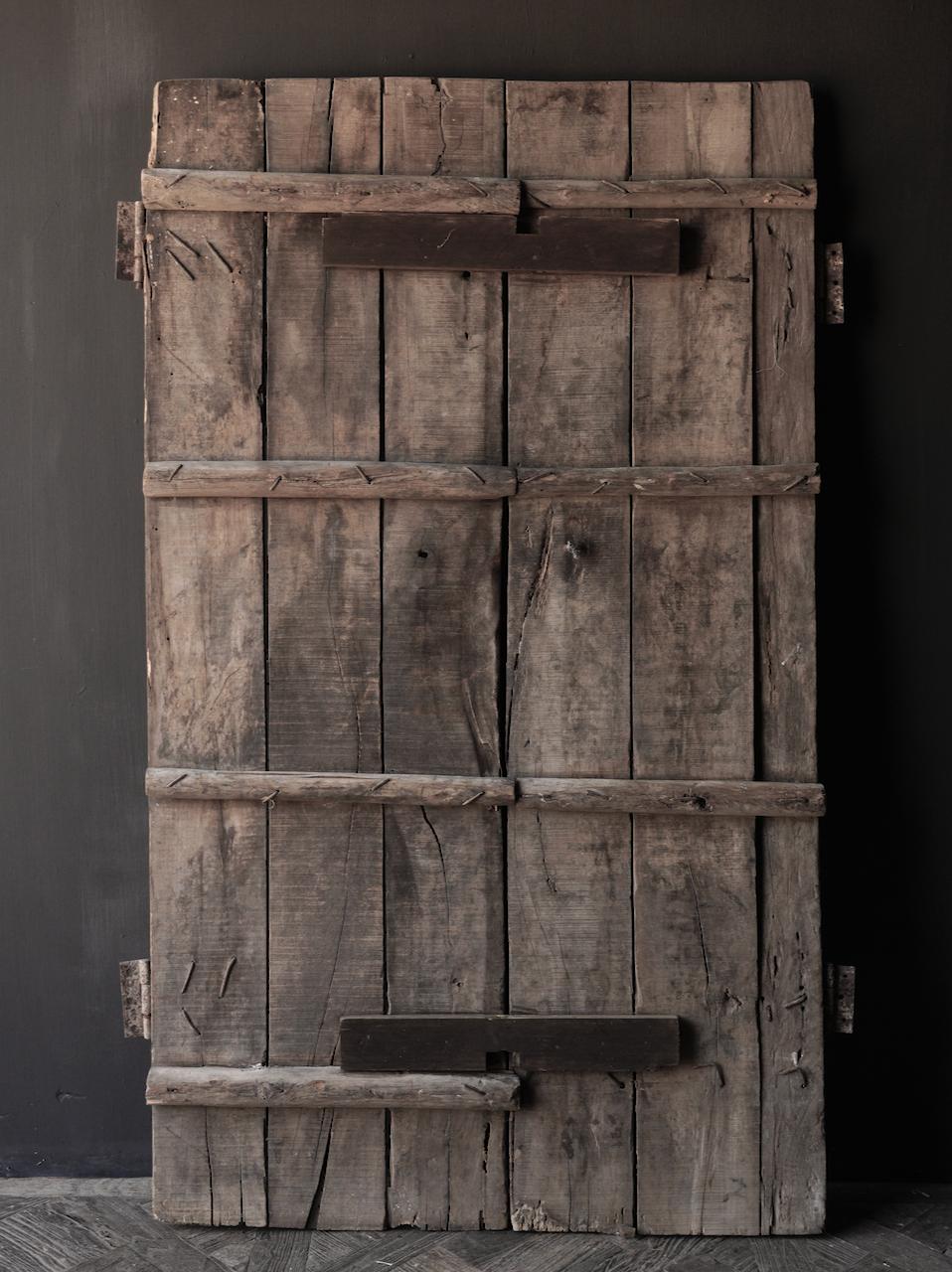 Oude Indische deuren set-5