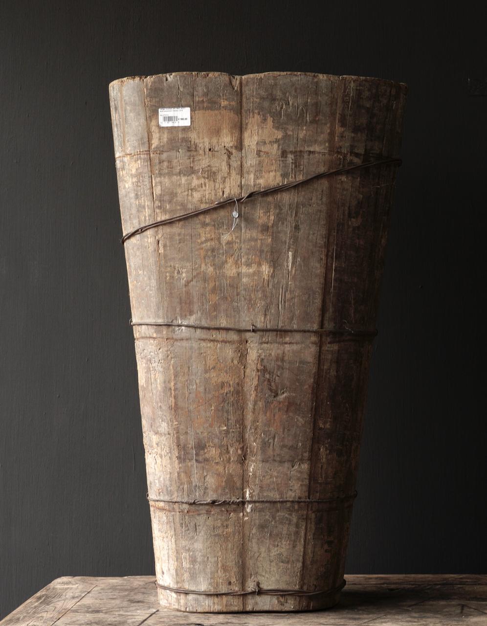 Original große alte Holzkiste-2