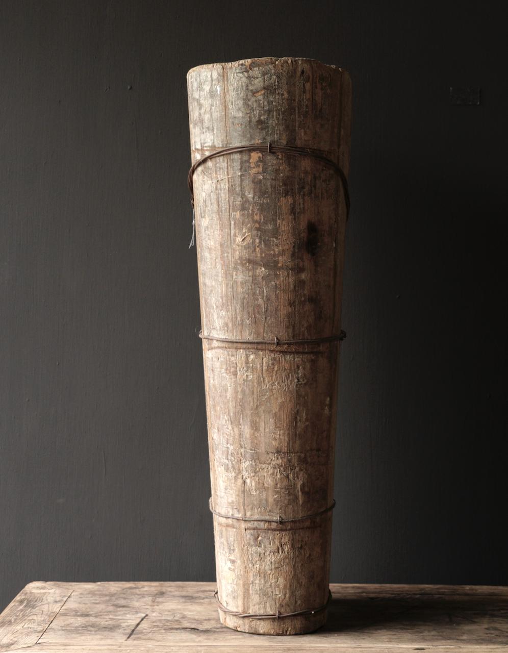 Original große alte Holzkiste-3