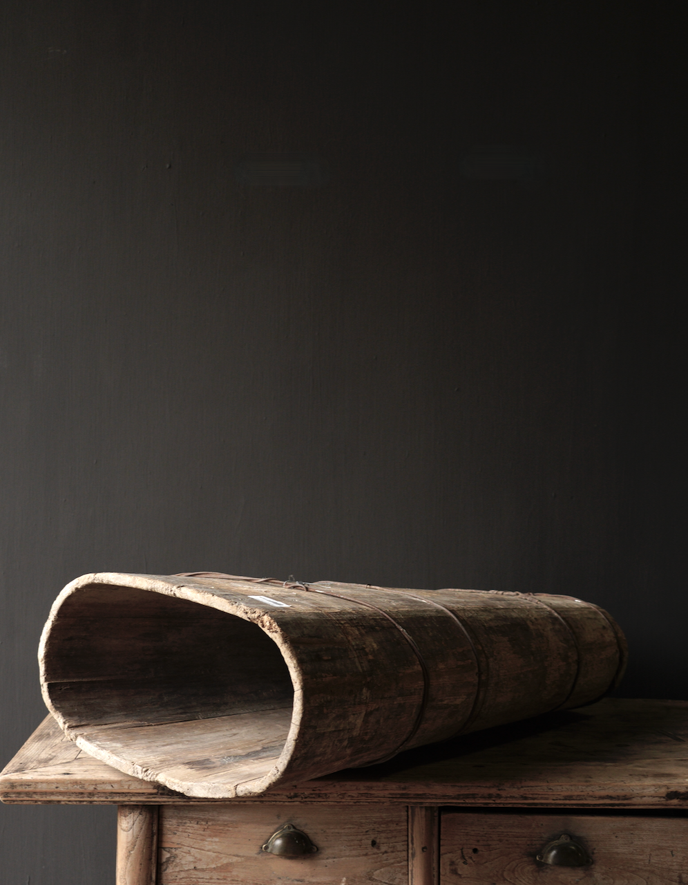 Original große alte Holzkiste-6