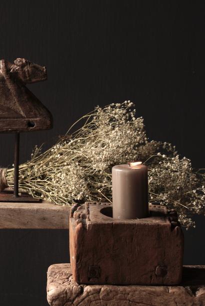 Kerzenständer aus altem Ornament