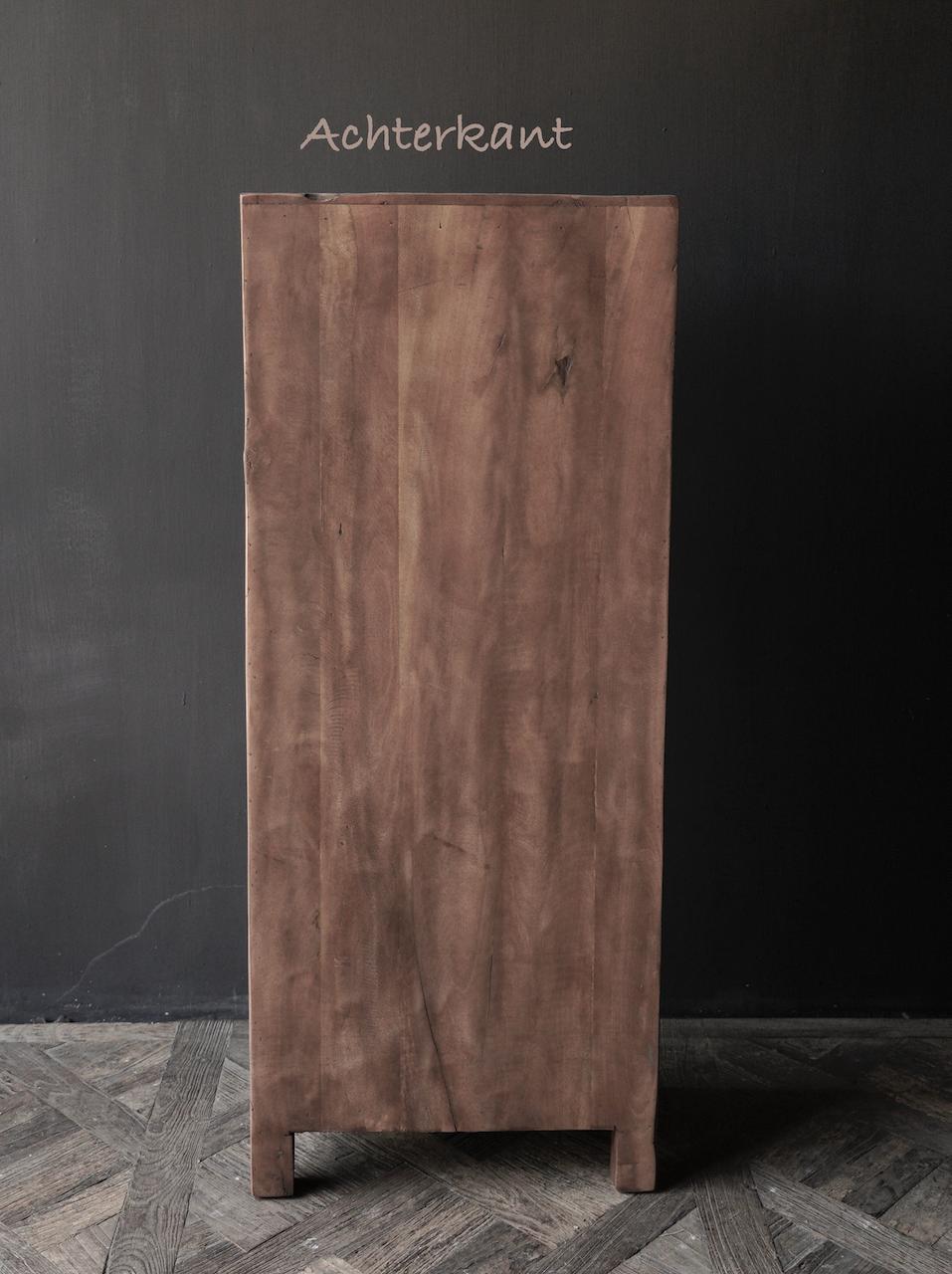 *Gereserveerd * Stoer Robuust Laden kastje van oud hout-5