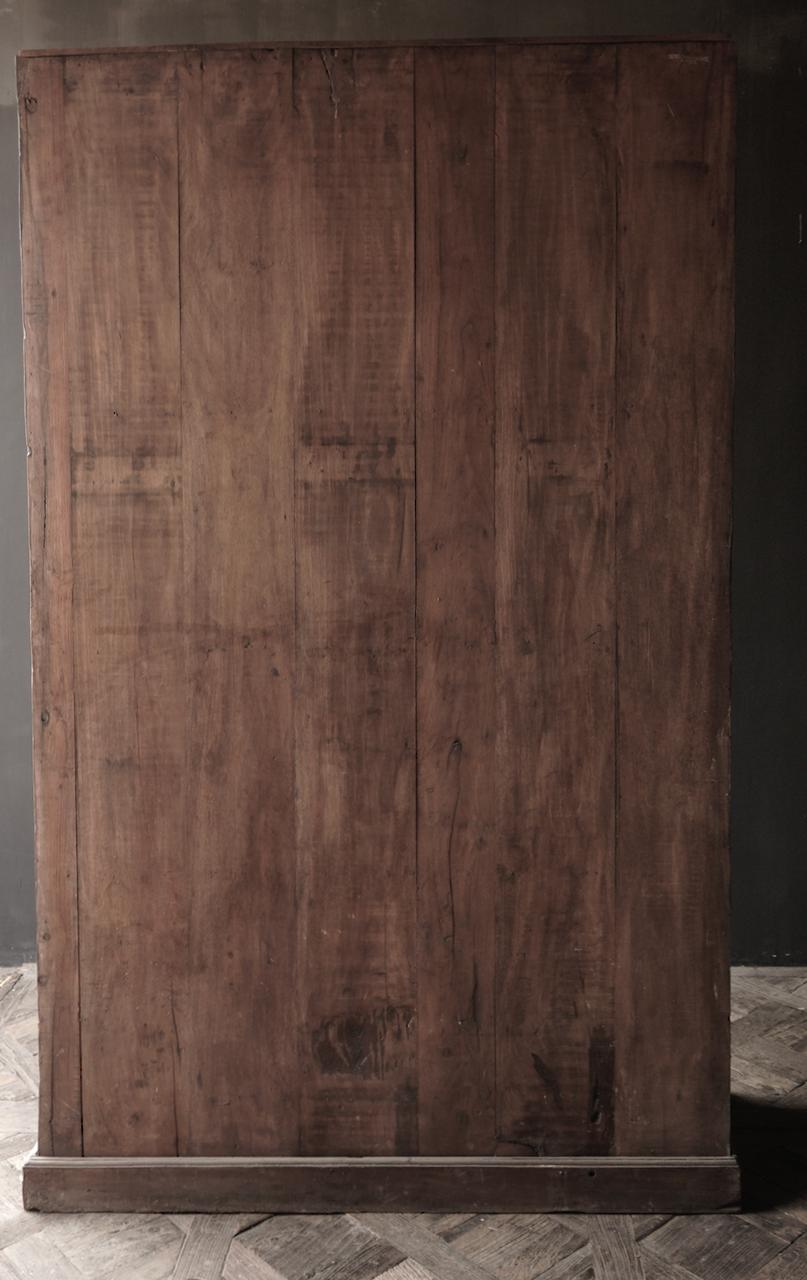 Oude Unieke Indische ( Wabi Sabi) kast twee deurs-6