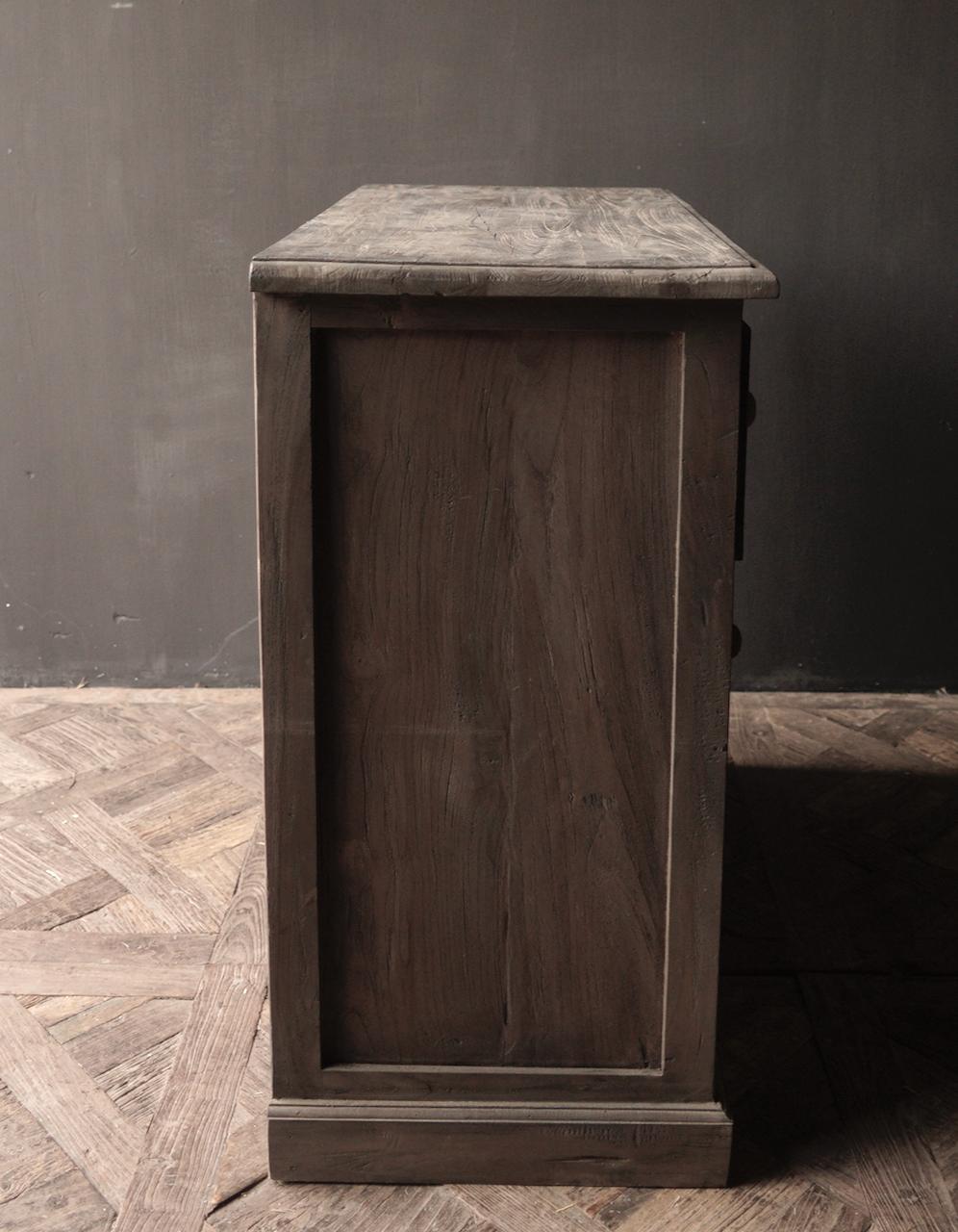 Alte Holzkommode mit Tür Lieke-5
