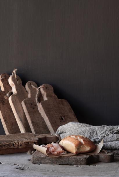 Small wooden bread board