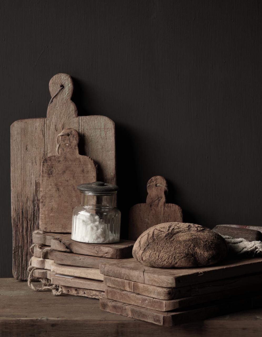 Kleines Brotbrett aus altem Altholz-4