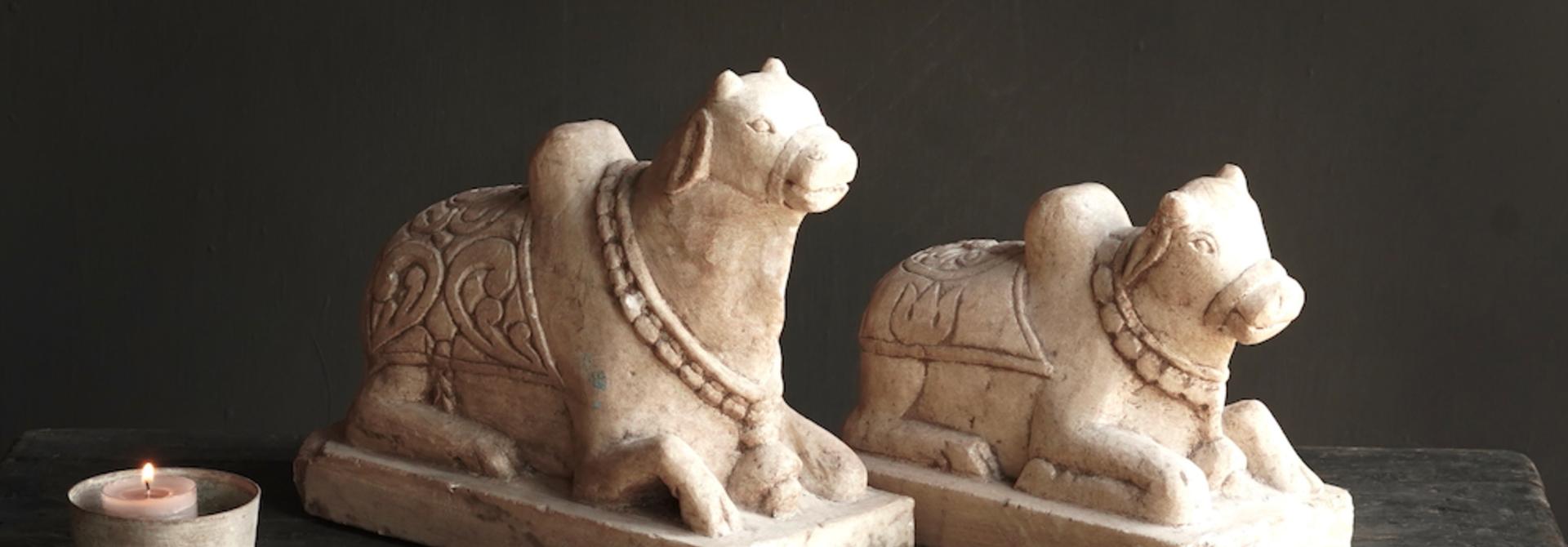 Unique Antiques Old Authentic natural stones Nandi