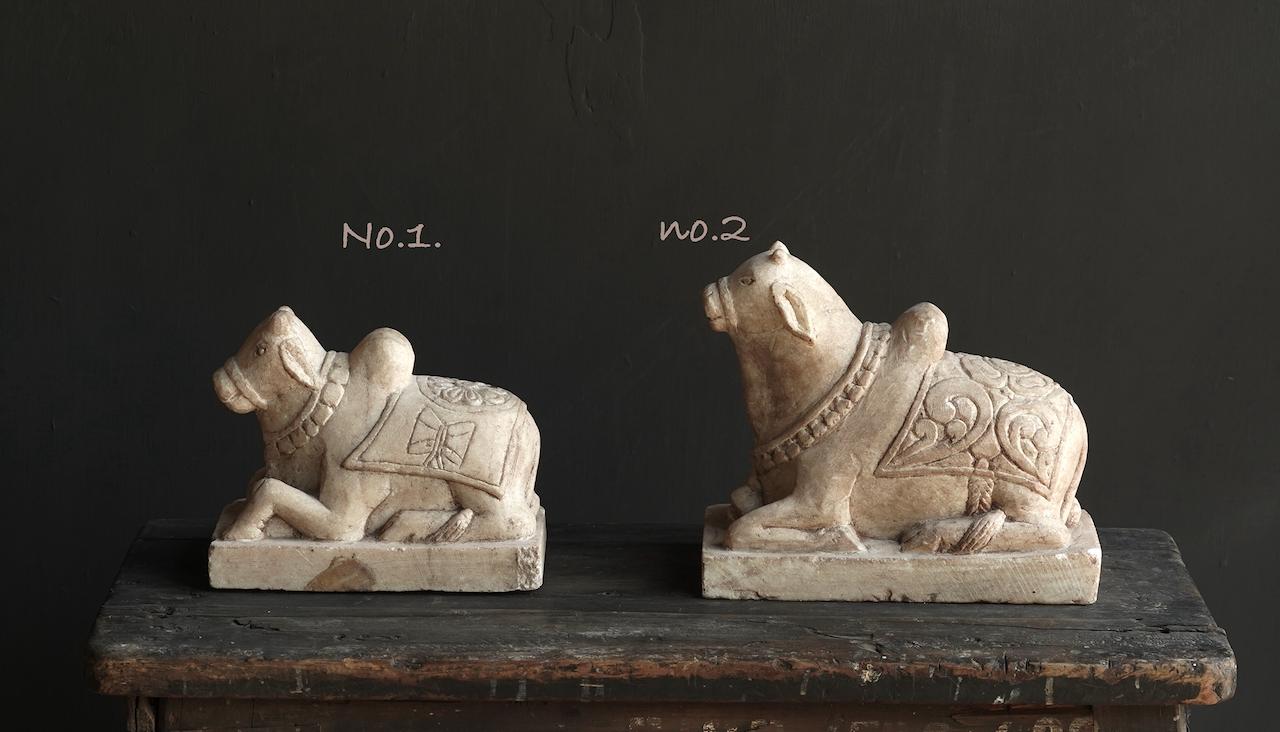 Unique Antiques Old Authentic natural stones Nandi-2