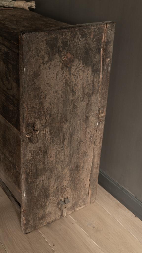 Stoere oude Himalaya   Kist / Box-5